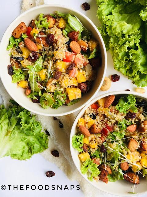Quinoa Chicken Salad Thefoodsnaps