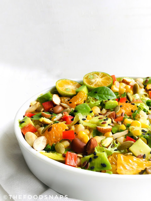 Simple Avocado and Corn Salad