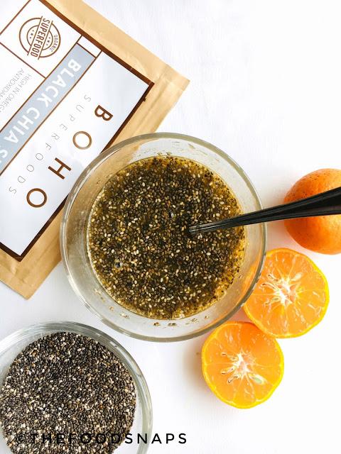 How to make the Mandarin Chia Parfait