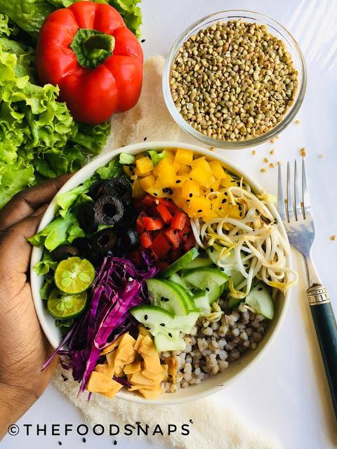 Healthy Gluten-Free Buckwheat Salad