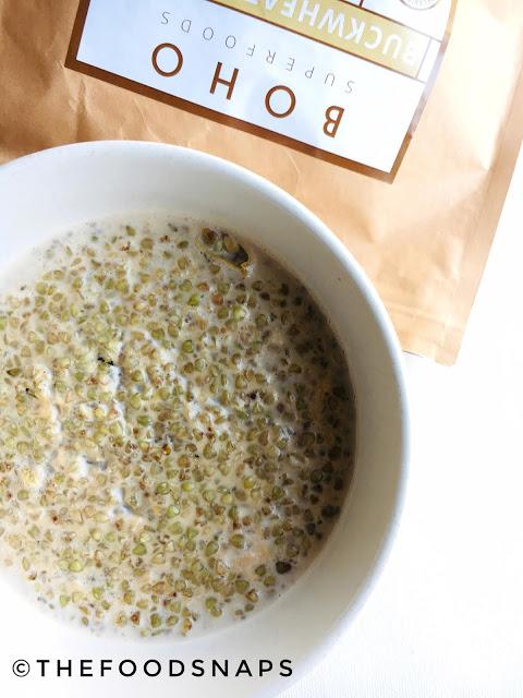 Cooked Buckwheat