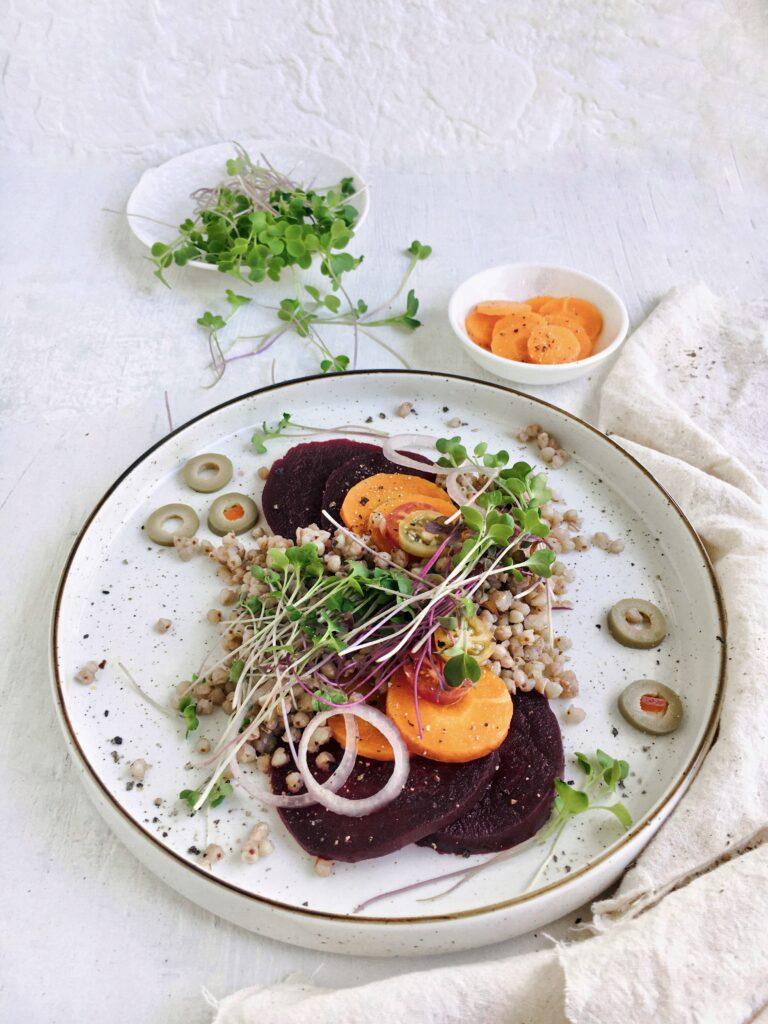 Easy Buckwheat Salad