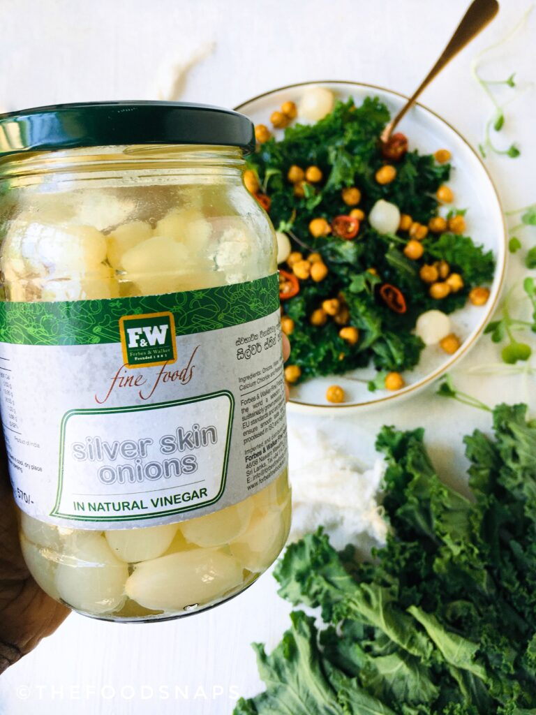 Pickled Silver Skin Onions