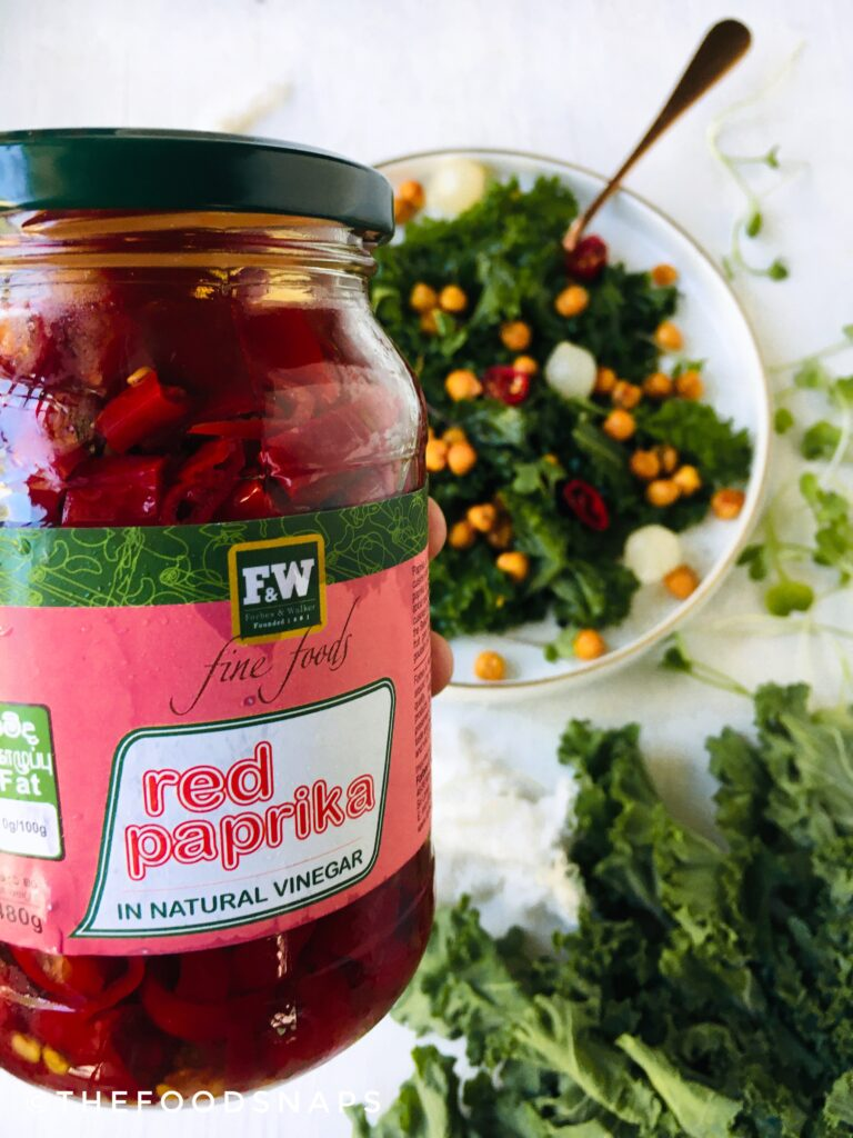 Pickled Red Paprika