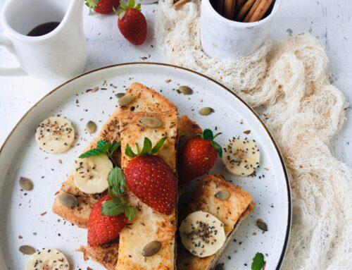Vegan French Toast Sticks