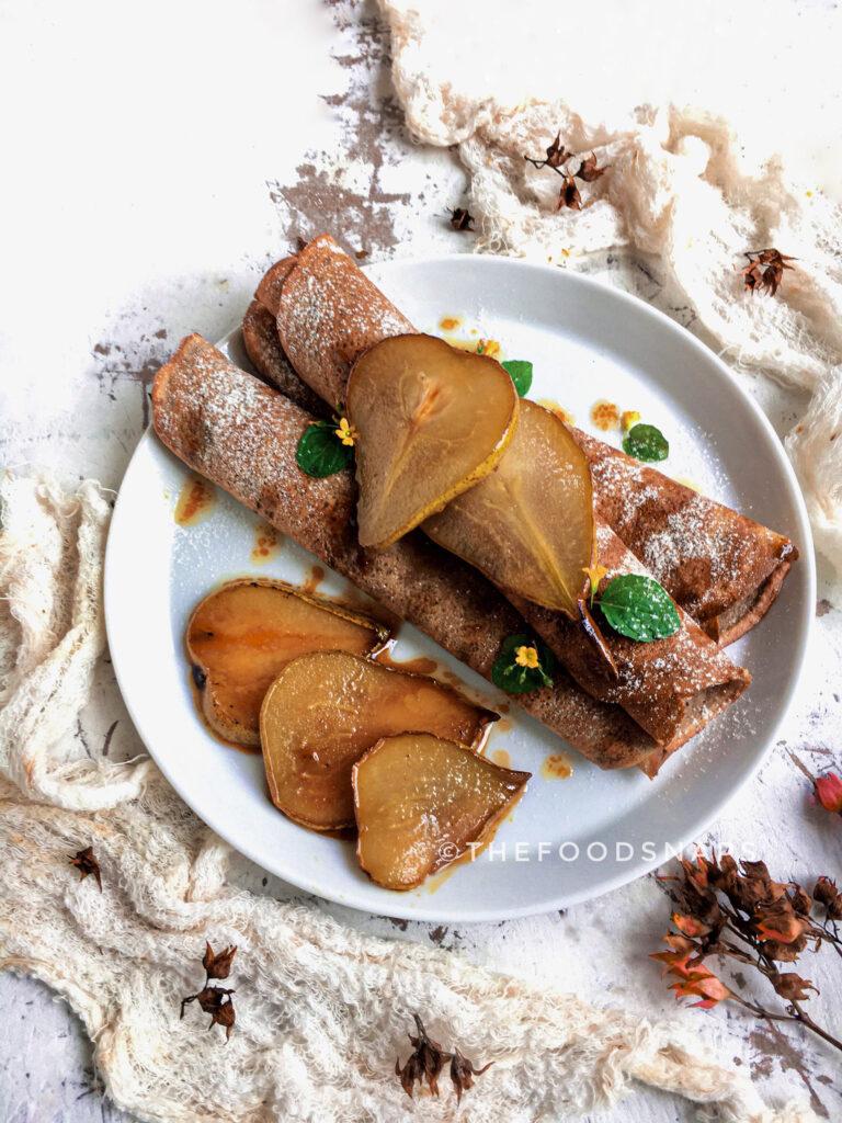 Sweet Potato Flour Crepes