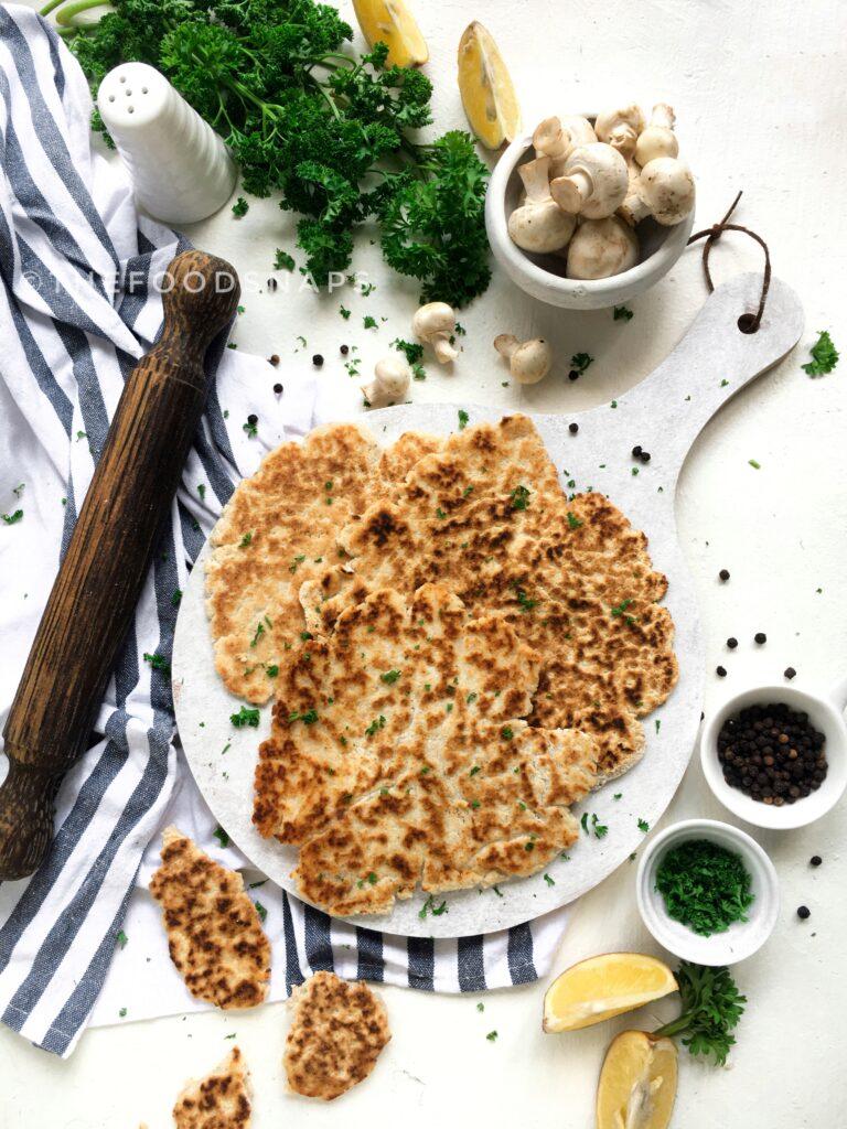 Cooked Keto Flatbread