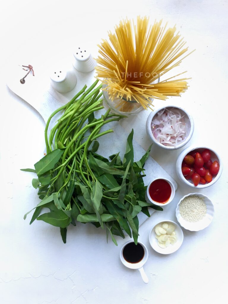 Ingredients For the Pasta Dish