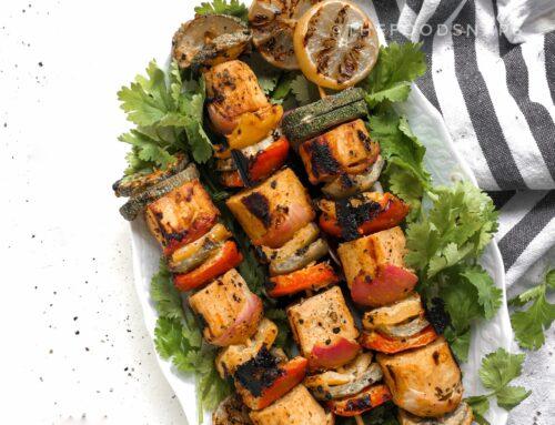 Grilled Kohila (Lasia) Kebab