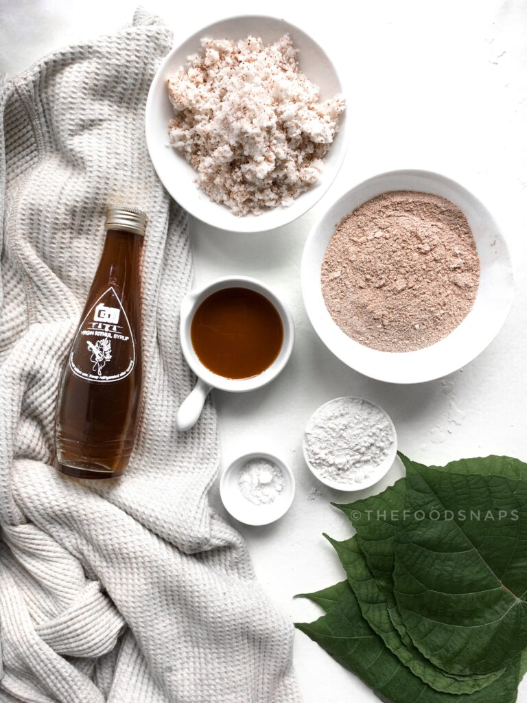 Ingredients for Halapa