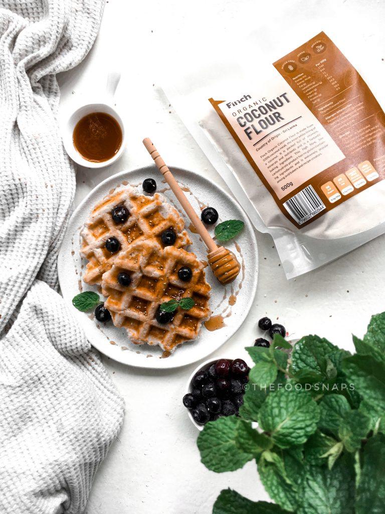 Keto Coconut Flour waffles