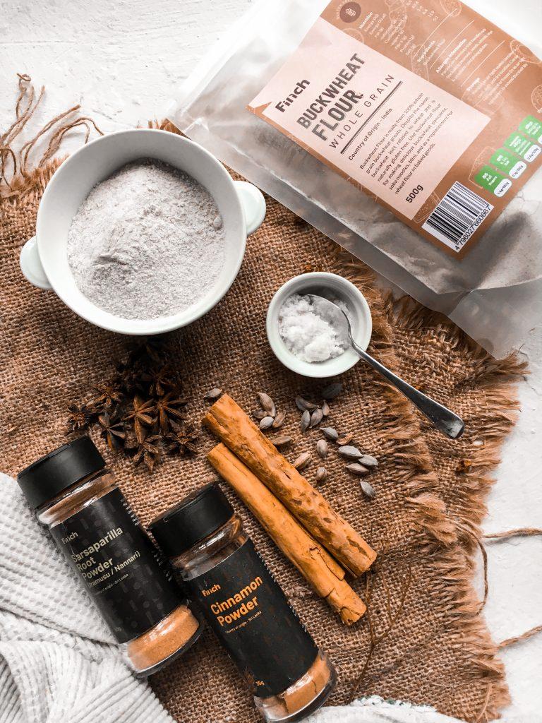 Buckwheat Pudding Ingredients