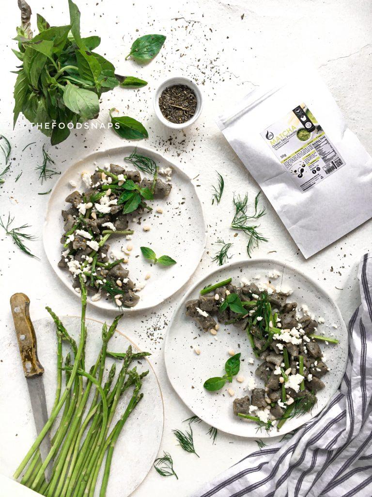 Matcha Green Tea Gnocchi